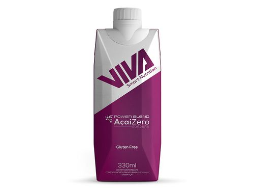 Viva Power Blend Smart Drinks Açaí - 12 Unidades