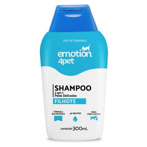 Shampoo  2 em 1 Emotion 4pet
