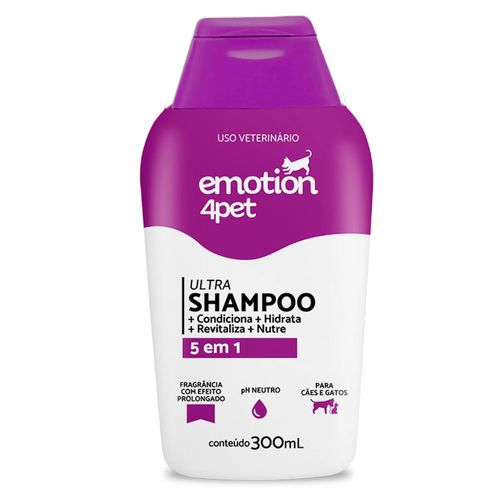 Shampoo 5 em 1 Emotion 4pet