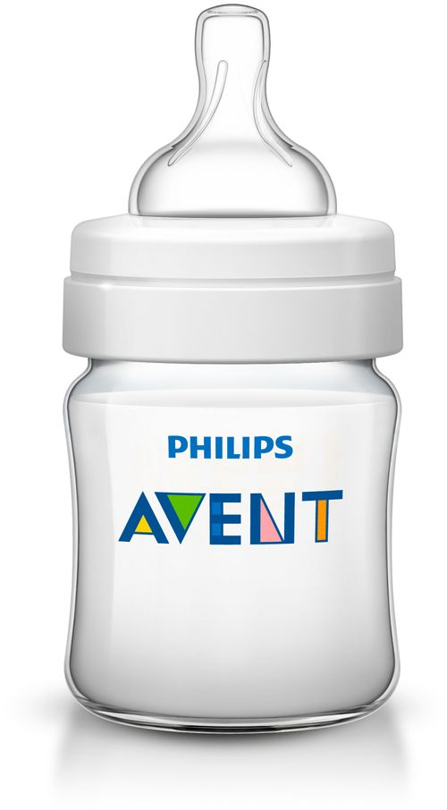 Mamadeira 125ml Linha Clássica Philips Avent - Transparente
