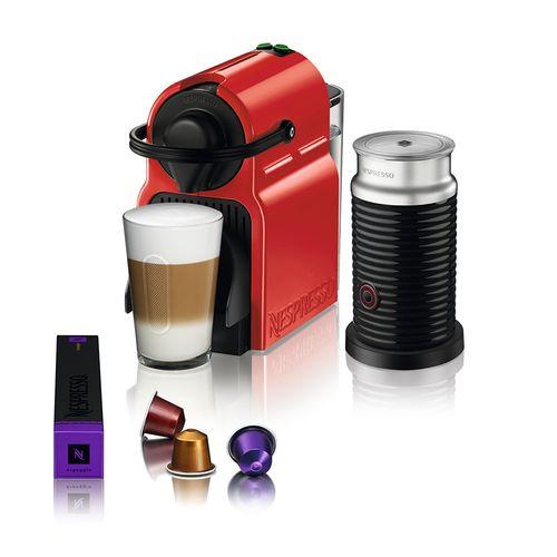 Nespresso Combo Inissia Ruby + Espumador de Leite Aeroccino