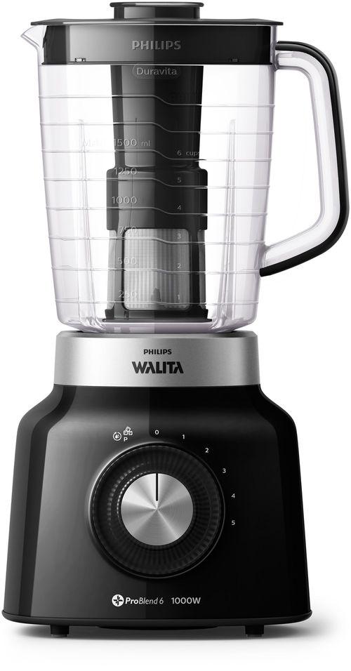 Liquidificador Duravita Philips Walita 1000W - RI2131 - Preto