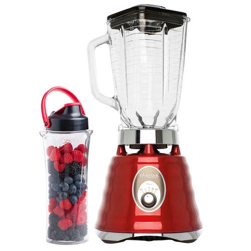 Kit Osterizer Vermelho - Liquidificador e Jarra Blend N Go