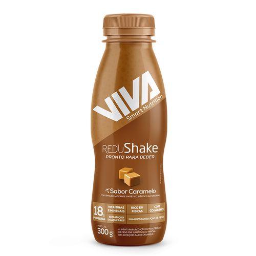Redushake Pronto Para Beber Viva Smart Nutrition - Caramelo - 12 Unidades