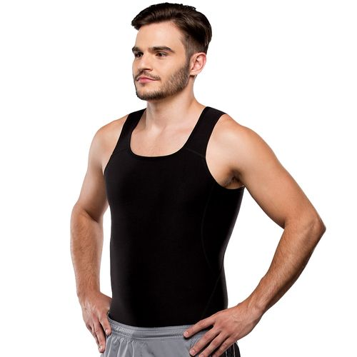 Cinta Modeladora Térmica Shape Now T-Shirt be emotion - Masculino - Preto