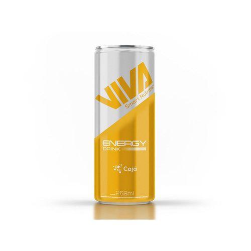 Bebida Energética Energy Action Viva Smart Drinks - Cajá (6 unidades)