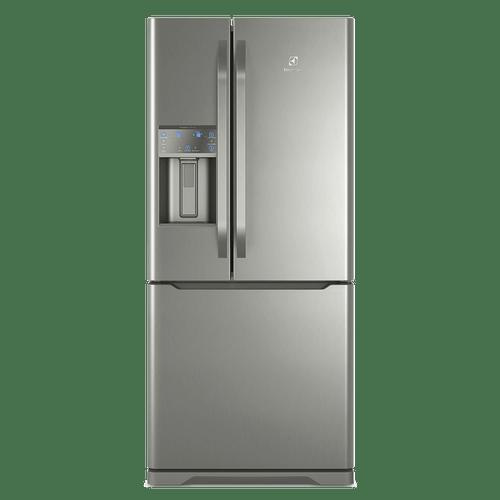 Geladeira French Door Inox com Dispenser de Água e Gelo na Porta 538L Electrolux (DM85X)