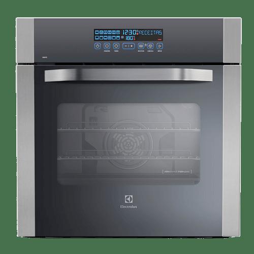Forno Elétrico de Embutir 80L Inox Electrolux (OE8TX)