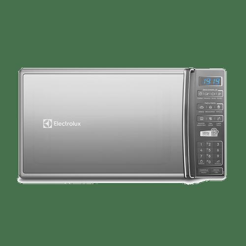 Micro-Ondas  cor Prata 27L com 55 Receitas pré-programadas no Menu Online Electrolux (MS37R)
