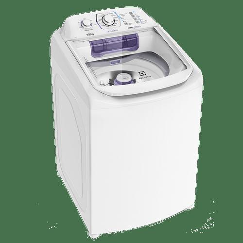 Lavadora Compacta Electrolux 12 Kg com Dispenser Autolimpante e Cesto Inox (LAC12)