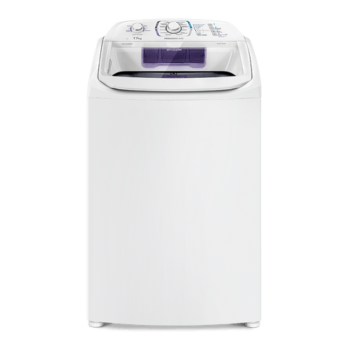 Lavadora Turbo Electrolux 17 Kg Branca com Capacidade Premium e Cesto Inox (LPR17)