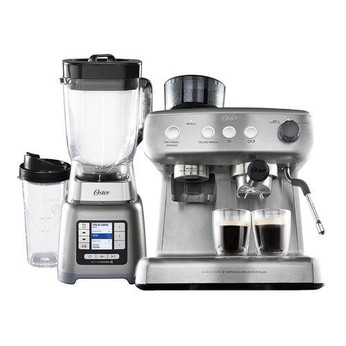 Kit Liquidificador Active Sense e Cafeteira Espresso Oster