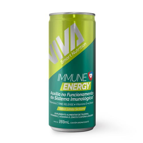 Suplemento Alimentar Líquido Immune Energy VIVA Smart Nutrition (6 unidades)