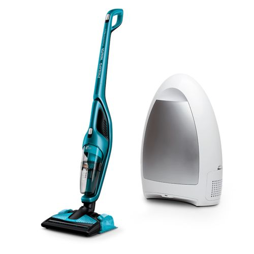 Aspirador Powerpro Aqua Philips Walita + Grátis Aspirador Inteligente Vacuum Cleaning Guard Polishop 1000W