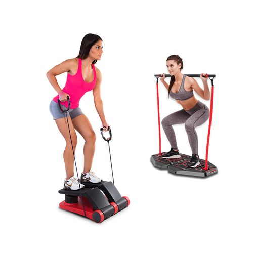 Genis Fitness Plataforma de Exercícios Transformer Full Body Station + Air Climber Power System Polishop
