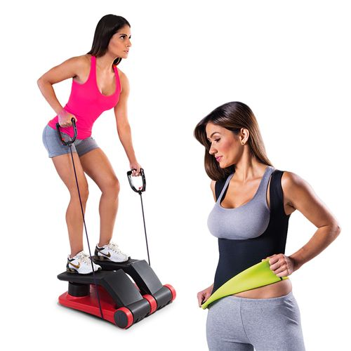Air Climber Power System Polishop + Fitnow T-Shirt Polishop Feminino