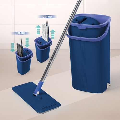 Limpador Multiuso Wash & Dry Easy Mop Polishop
