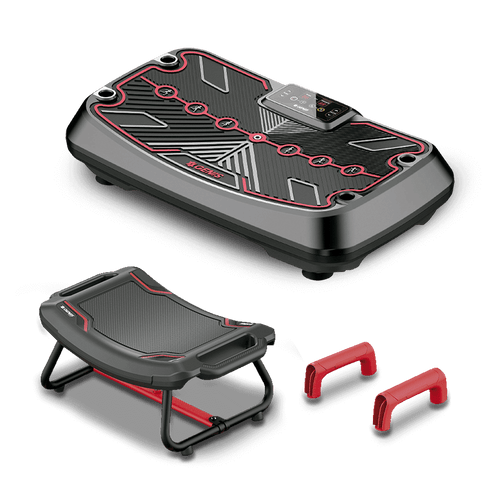 Plataforma Vibratória Genis Energym Pro + Kit de Acessórios Genis Energym Set