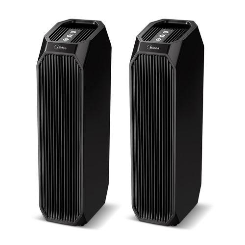 2 Purificador de Ar Air Purifier Black Midea e GANHE R$ 300 de Desconto