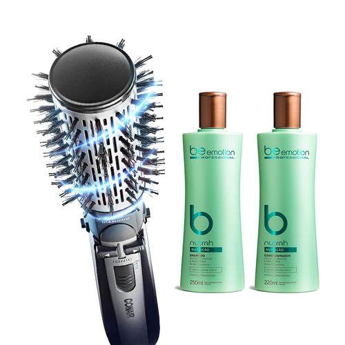 Escova Rotating Conair | GRÁTIS Shampoo e Cond. Nutrah