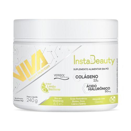 Colágeno + Ácido Hialurônico Instabeauty Viva Smart Nutrition